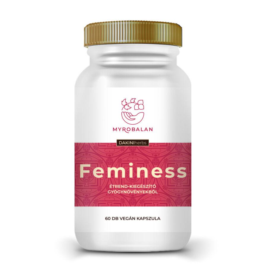 Feminess - gyógynövény kapszula a könnyed változókorért