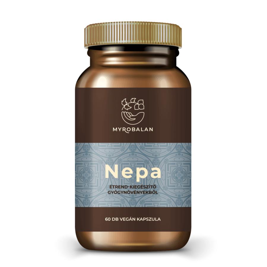 Nepa - gyógynövény kapszula a nyugodt tudatért