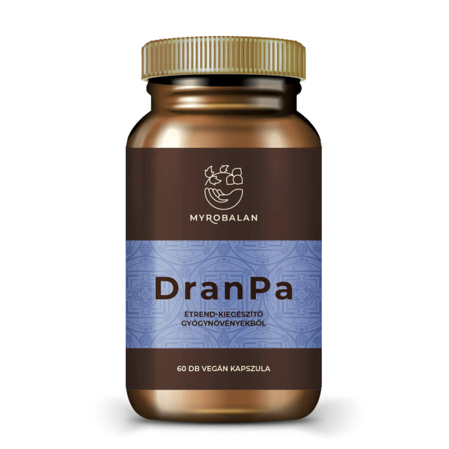 DranPa agyserkentő és memóriajavító gyógynövényes kapszula
