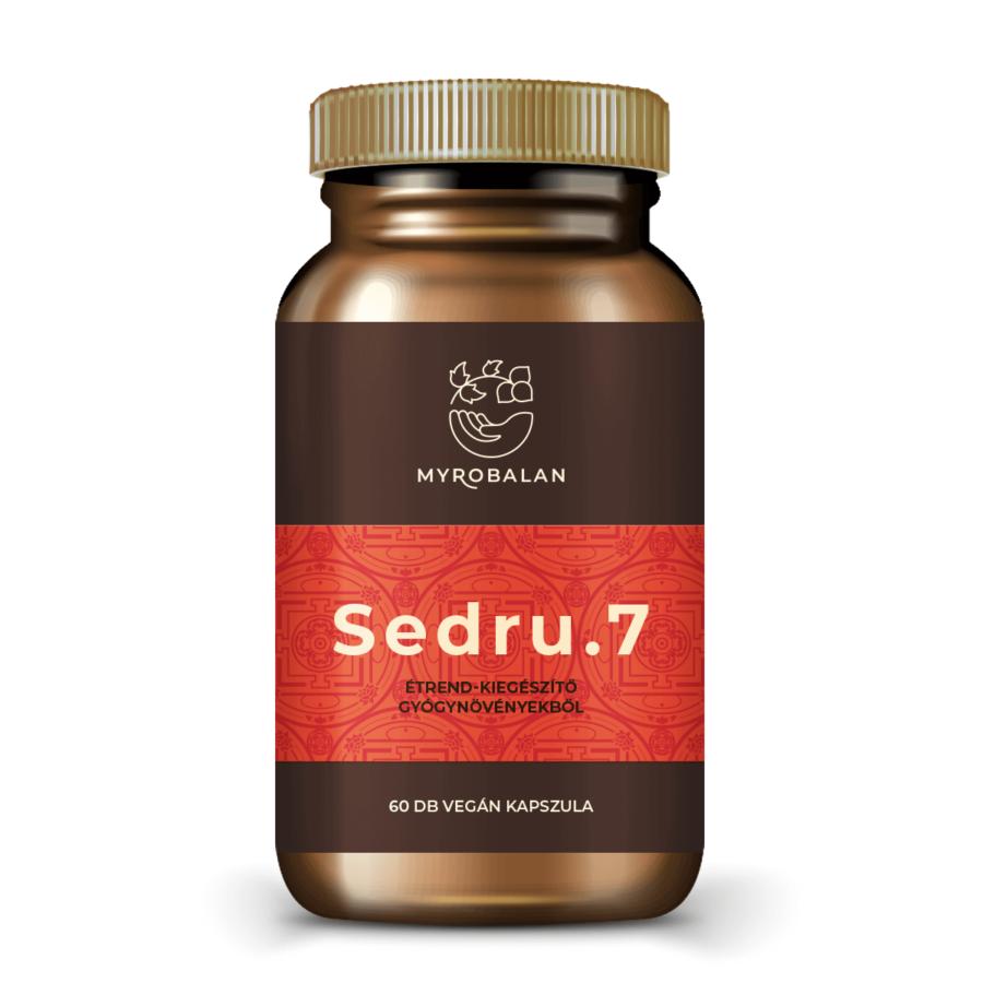 Sedru.7 emésztést serkentő gyógynövényes kapszula